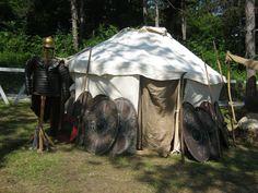 Eagle on the Danube 2016, Barbarian Camp - dacians, Terra Dacica Aeterna, România