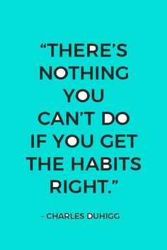 There is nothing you cannot achieve with the right habits! Your key to success is creating good habits that make achieving your goals easy and automatic. Plus, click here to get your FREE guide inside.