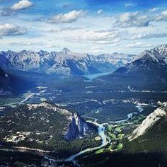 Sulphur Mountain Trail | 21 Walks In Alberta That Will Take Your Breath Away