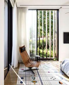 Afeka House Amaze with Corten Steel Shading System - InteriorZine The Best of interior decor in 2017.