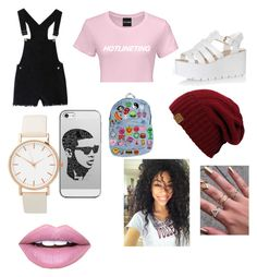"""""""Hotline"""" by goofystar ❤ liked on Polyvore featuring Glamorous, Casetify and Fiebiger"""