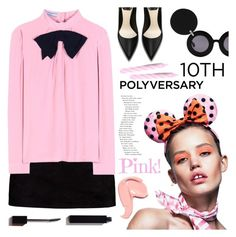 """Celebrate Our 10th Polyversary!"" by meyli-meyli ❤ liked on Polyvore featuring Boohoo, Jagger, Prada, Linda Farrow, Serge Lutens, polyversary and contestentry"