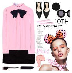 """Celebrate Our 10th Polyversary!"" by meyli-meyli ❤ liked on Polyvore featuring Boohoo, Jagger, Prada, Linda Farrow, Serge Lutens, polyversary and contestentry"
