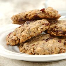 """Gluten-Free Oatmeal and Flax Cranberry Cookies – packed with antioxidants, fiber, and """"friendly fats."""""""