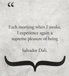 Salvador Dali quote #quote zest