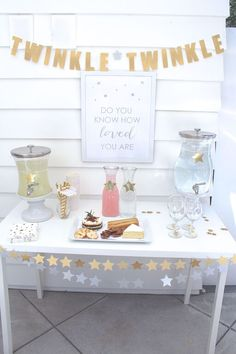 Baby Shower Dessert And Drink Table More