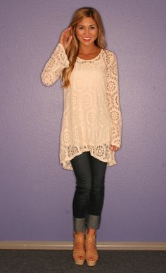 Seaside Tunic  - with or without a colorful belt