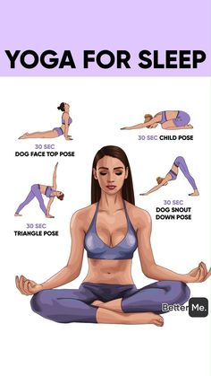 Best sleep with yoga - Ab Workout & Fitness Fitness Herausforderungen, Fitness Workouts, At Home Workouts, Fitness Motivation, Health Fitness, Shape Fitness, Kids Fitness, Planet Fitness, Free Fitness