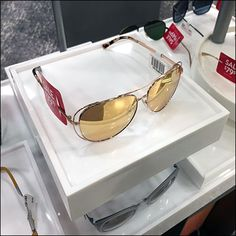 This Sunglass Hut Tray Outfitted Sunglass Sales presentation allows the eye to focus on individual styles at various levels. Retail Fixtures, Store Fixtures, Sales Presentation, Retail Merchandising, Sunglass Hut, Sunglasses Sale, Trays, Eyewear, Nordstrom