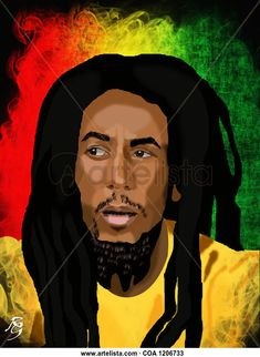 Bob Marley, Gonna Be Alright, Cool Store, Rock And Roll, My Arts, Disney Princess, Don't Worry, Drawings, Artist