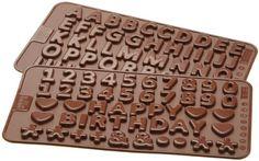 Birkmann 251731 Buchstaben, Zahlen, Schoko und Decor