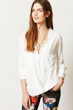 Draped Celia Top #anthropologie
