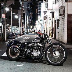 Ironhead Sportster, Harley Davidson Sportster 1200, Custom Sportster, Custom Bobber, Custom Harleys, Custom Motorcycles, Custom Bikes, Bobber Bikes, Bobber Motorcycle