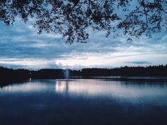 Два шага и ты у озера 💙