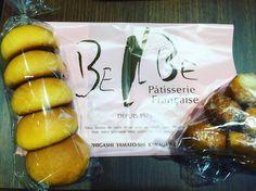 三宿オオゼキに入ってたパン屋さんの たまごぱん&かりんとパン すでになつかしい 思いがけず久々の再会感涙