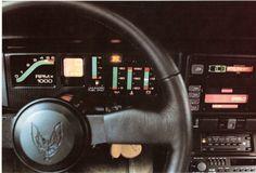 87 Pontiac Trans Am digital dash