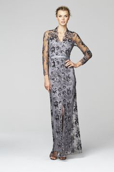 An elegant dress by Daymor for a mother of the bride mother of ...