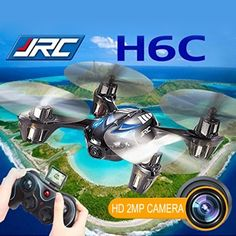 [USD36.19] [EUR33.03] [GBP26.08] JJRC H6C 2.0MP Camera 6-axis Gyro 4-Channel 2.4GHz Drone Radio Control Quadcopter with LCD Transmitter(Blue)