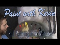 20 Minute Oil Painting Challenge - Paint with Kevin Hill - YouTube