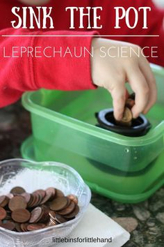 St Patricks Day Sink Float Experiment STEM Activity
