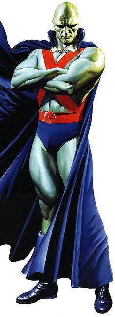 MM by Alex Ross    https://www.facebook.com/OurWorldGeekery  #superheroes #AlexRoss