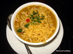 Disneyland gumbo recipe from the Blue Bayou Restaraunt in New Orleans Square