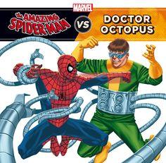 SPIDER-MAN VS DR. OCTOPUS. - Peter Parker era un estudiante normal hasta que fue mordido por una araña radioactiva, convirtiéndole en Spiderman. Descubre cómo el doctor Otto Octavius se convirtió en el malvado Doctor Octopus, un villano nada fácil de vencer.¿Podrá Spiderman escapar de los brazos mecánicos del terrible doctor?