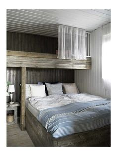 The room is space of the house that has a particular part in turning into a component of the interior home. It ought not to be too stark in decorating a room as it is for sure that you will wind up… Home Bedroom, Bedroom Decor, Lofted Bedroom, Bedroom Ideas, Bedroom Small, Bed Ideas, Cottage Design, House Design, Design Room