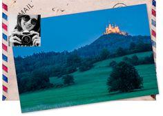Guardo dal finestrino ... e inizio a sognare Che sia finita in un cartone animato della #disney?  #ilviaggiodiSara #castello #meraviglia