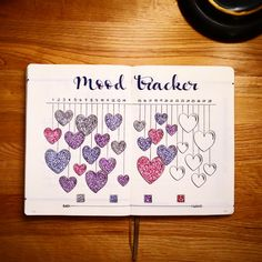 February Mood Tracker @pagesbyleanne