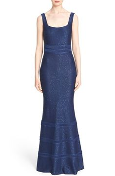 St. John Collection Sequined Yarn Knit Gown $1,995.00  #TopSale #cute #ClothingDesigner