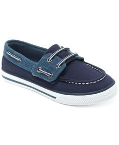 Hanna Andersson Boys' Nils Boat Shoes