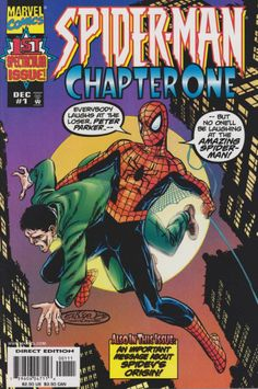 Cover to Spider-Man Chapter One #1