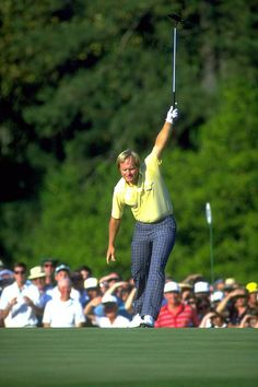 Jack Nicklaus, greatest of his time, maybe of all time.