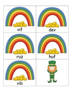 FREE St. Patrick's Day Nonsense and /ar/ Word Hunts. I think this would be fun to hide these around the room for a treasure hunt.