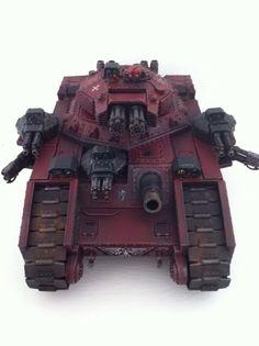 Apocalypse 40K - The 40K Daily Buzz: Crimson Templars Fellblade