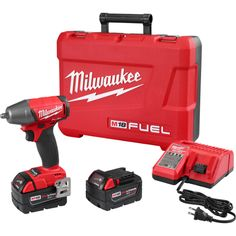 """M18 FUEL™ 3/8"""" Compact Impact Wrench w/ Friction Ring Kit (2754-22)   Milwaukee Tool"""