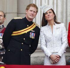 Prince Harry Kate Middleton June 14 2014