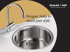 Your kitchen is incomplete without a #DiamondSink so get one soon! Explore the complete range @ www.diamondsink.in #SteelSink #SteelKitchenSink #Sink #Kitchen #KitchenSinks