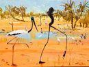 Jabiru Billabong 2 - Judy Prosser Aboriginal Art, Australian Artists, Billabong, Garden Art, Earth, Fine Art, Bottle, Gallery, Nature