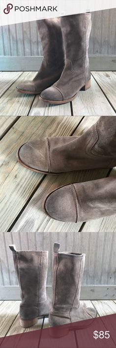 J.Crew Natural Ryder Boots J.Crew Suede Boots. Great Condition. Thanks for shopping my closet. J. Crew Shoes