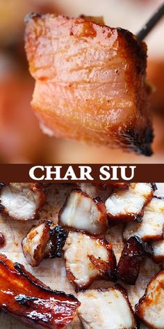 The best Char Siu recipe with perfect Cantonese BBQ char siu pork and sweet char siu sauce. This is an authentic recipe that tastes like Cantonese restaurants in Chinatown!