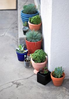 Colorful pots....I can make that