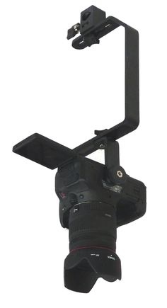 ALZO Face Down Camera Screw to Ceiling Mount for DSLR cameras and small camcorders.
