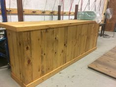 Light Wood Bar 10'