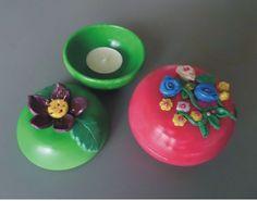 porta candella con candela profumata, by Laboratorio Elisa Villalba, 6,00 € su misshobby.com