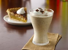Looking for delightful cold drink? Then try this milk shake made using vanilla ice cream and pecan pie – ready in 10 minutes.