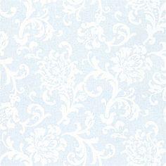 Thibaut Fairfax - Delhi - Wallpaper - Blue