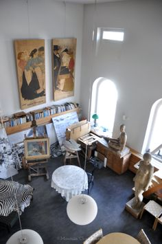All Things Moomin • Tove Jansson's studio in Helsinki All Things... From Moomin.com