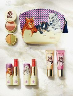 Paul & Joe kitty makeup- suuuper cute packaging! ^_^